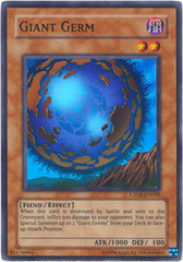 Giant Germ - CP05-EN002 - Super Rare - Promo Edition on Channel Fireball