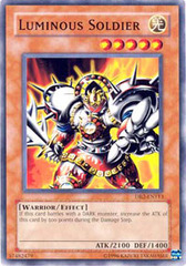 Luminous Soldier - DB2-EN113 - Common - Unlimited Edition