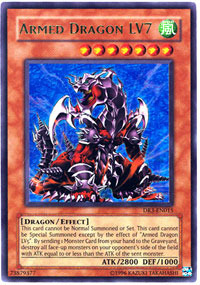 Armed Dragon LV7 - DR3-EN015 - Ultra Rare - Unlimited Edition