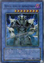 Demise, King of Armageddon - DR04-EN155 - Super Rare - Unlimited Edition