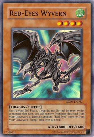 Red-Eyes Wyvern - GX06-EN002 - Super Rare - Promo Edition