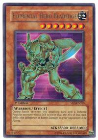 Elemental Hero Bladedge - YSD-EN019 - Ultra Rare - 1st Edition