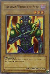 Unknown Warrior of Fiend - SDK-017 - Common - 1st Edition