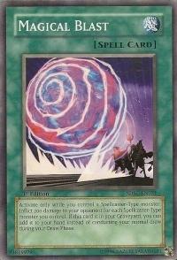 Magical Blast - SDSC-EN031 - Common - 1st Edition