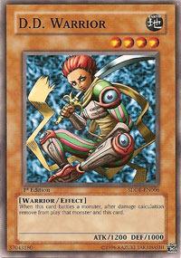 D.D. Warrior - SDDE-EN006 - Common - 1st Edition