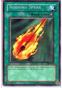 Burning Spear - TP1-010 - Rare - Promo Edition