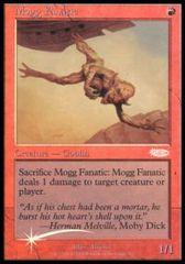 Mogg Fanatic - Foil FNM 2002