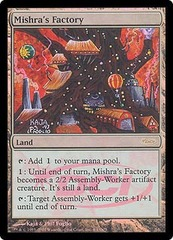Mishra's Factory - Foil DCI Judge Promo