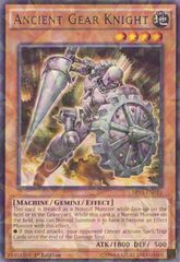 Ancient Gear Knight - BP03-EN033 - Shatterfoil - 1st Edition on Channel Fireball