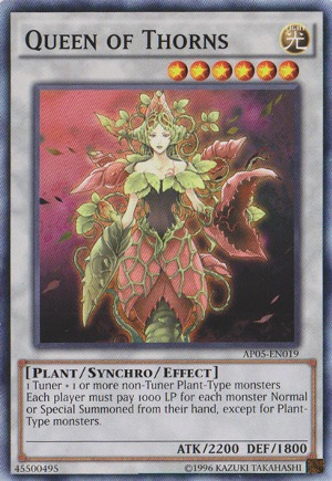 Queen of Thorns - AP05-EN019 - Common - Unlimited Edition