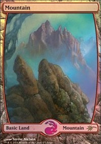 Mountain - Full Art - Foil DCI Judge Promo