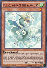 Pulao, Wind of the Yang Zing - DUEA-EN031 - Super Rare - 1st Edition