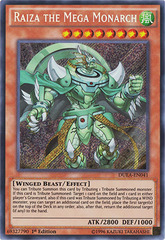 Raiza the Mega Monarch - DUEA-EN041 - Secret Rare - 1st Edition