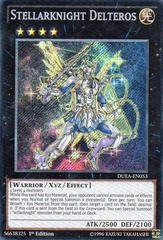 Stellarknight Delteros - DUEA-EN053 - Secret Rare - 1st Edition