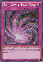 Time-Space Trap Hole - DUEA-EN079 - Secret Rare - 1st Edition