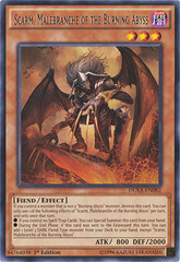 Scarm, Malebranche of the Burning Abyss - DUEA-EN082 - Rare - 1st Edition