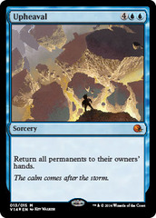 Upheaval - Foil on Channel Fireball