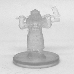 Gold Dwarf Female Cleric (Invisible)