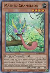 Masked Chameleon - MP14-EN091 - Ultra Rare - 1st Edition