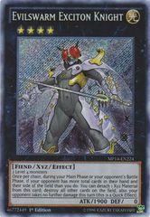 Evilswarm Exciton Knight - MP14-EN224 - Secret Rare - 1st Edition