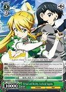 Virtual and Reality Leafa & Suguha - SAO/S26-022 - RR