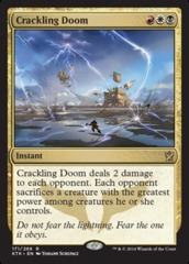 Crackling Doom - Foil on Channel Fireball