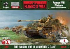 Panzer IVH Platoon (plastic)