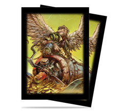84449 - Ultra PRO Dark Side of Oz Flying Monkey Sleeves (50 ct.) on Channel Fireball