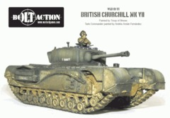 British Churchhill Mk VII Tank