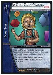 A Child Named Valeria - Foil