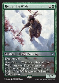 Heir of the Wilds (Khans of Tarkir Game Day)