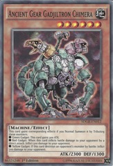 Ancient Gear Gadjiltron Chimera - SDGR-EN012 - Common - 1st Edition