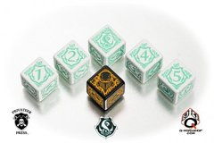Warmachine Retribution of Scyrah Faction Dice Set