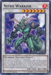 Nitro Warrior - LC5D-EN032 - Common - 1st Edition