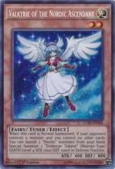 Valkyrie of the Nordic Ascendant - LC5D-EN184 - Secret Rare - 1st Edition