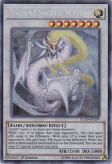 Ancient Sacred Wyvern - LC5D-EN239 - Secret Rare - 1st Edition