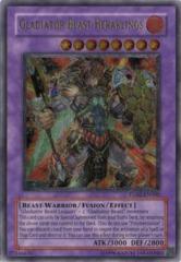 Gladiator Beast Heraklinos - TU02-EN000 - Ultimate Rare - Promo Edition