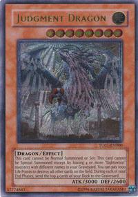 Judgment Dragon - TU01-EN000 - Ultimate Rare - Promo Edition
