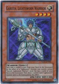 Garoth, Lightsworn Warrior - TU01-EN002 - Super Rare - Promo Edition