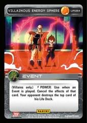 Villainous Energy Sphere - Foil