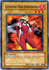 Elemental Hero Burstinatrix - DP1-EN002 - Common - 1st Edition