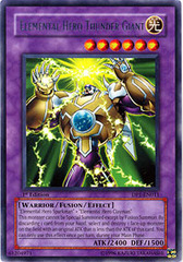 Elemental Hero Thunder Giant - DP1-EN011 - Rare - 1st Edition