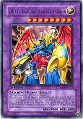 VWXYZ-Dragon Catapult Cannon - DP2-EN017 - Rare - 1st Edition