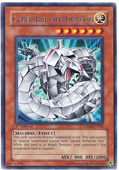 Cyber Barrier Dragon - DP04-EN002 - Rare - 1st Edition on Channel Fireball