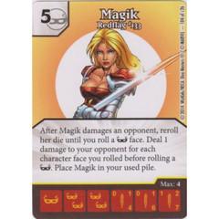 Magik - Redflag #133 (Die  & Card Combo)