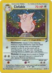 Clefable - 5/130 - Holo Rare - Unlimited Edition