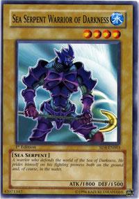 Sea Serpent Warrior of Darkness - SD4-EN003 - Common - 1st Edition