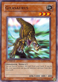 Gilasaurus - SD09-EN005 - Common - 1st Edition
