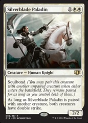 Silverblade Paladin on Channel Fireball