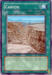 Canyon - SD7-EN016 - Common - 1st Edition on Channel Fireball